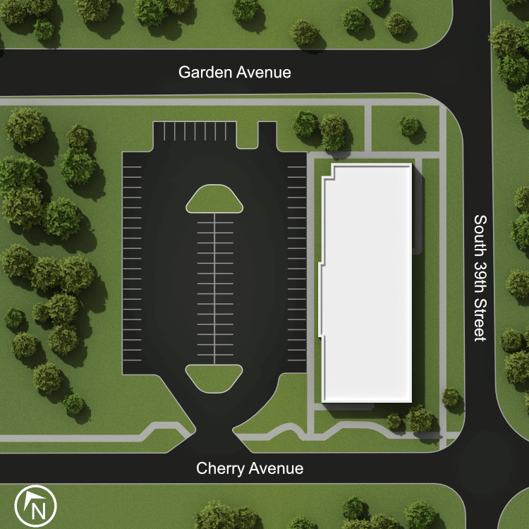 Elevation Student Living Site Map