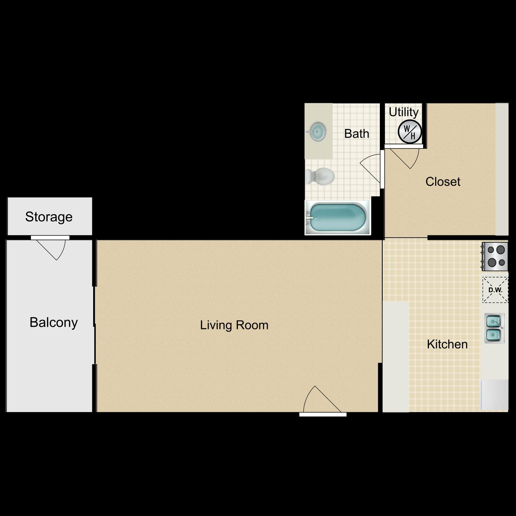 The Birch floor plan image