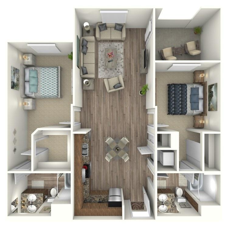 Floor plan image of B2MO
