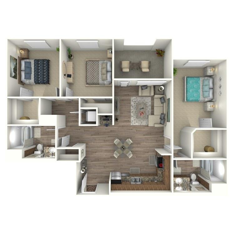 Floor plan image of C1MO