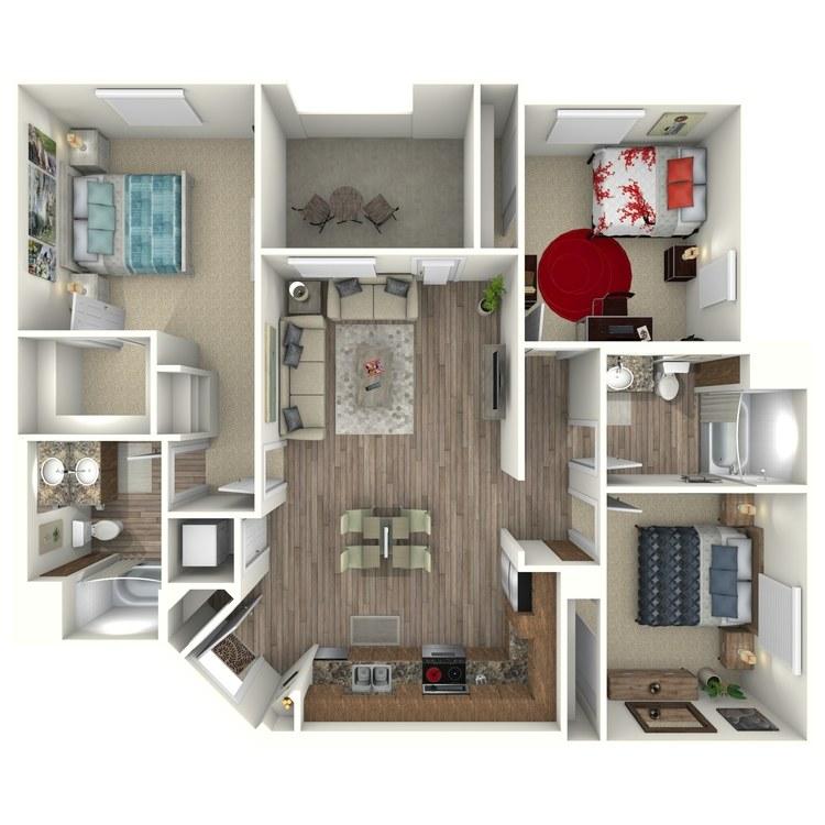 Floor plan image of C3MM
