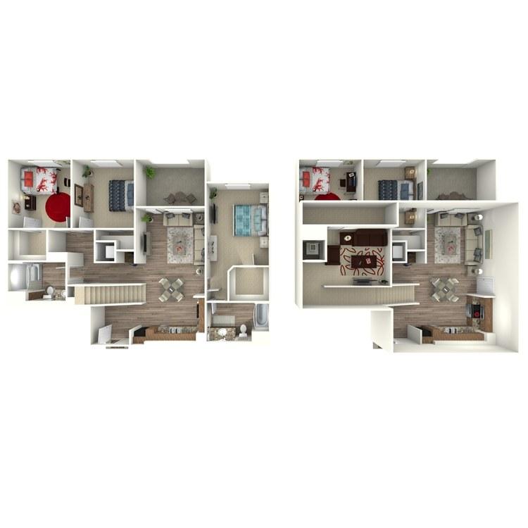 Floor plan image of C1-M