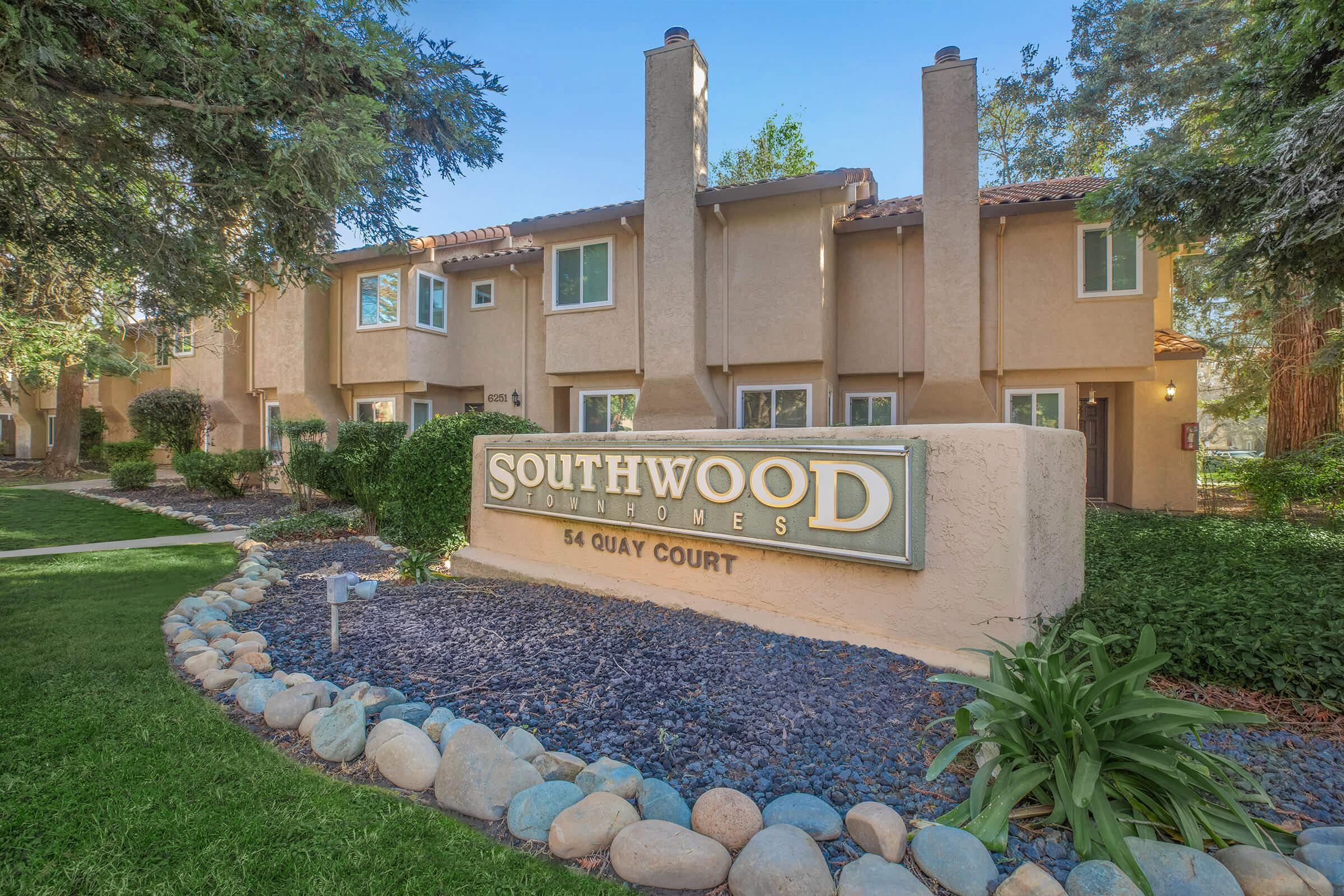 Landscaping at Southwood Townhome in Sacramento CA