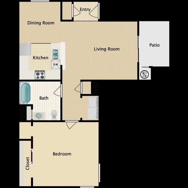 Floor plan image of Deodar