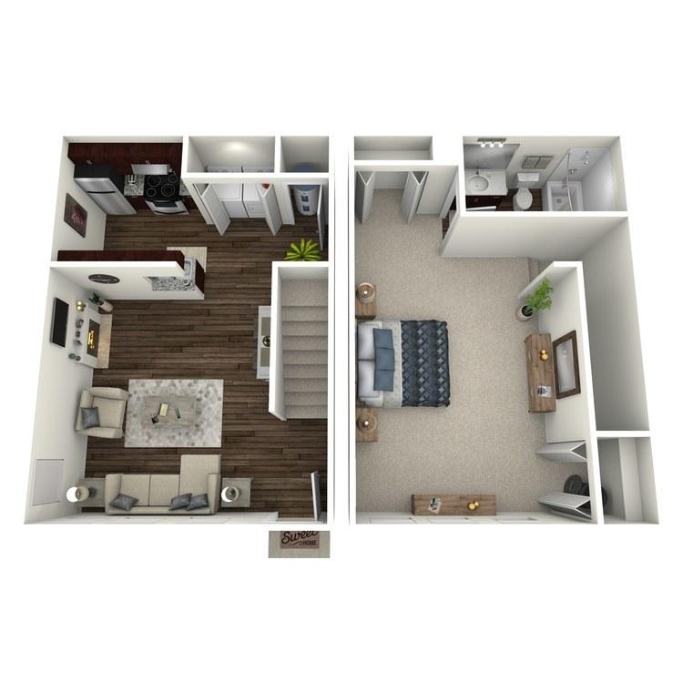 Floor plan image of The Cypress