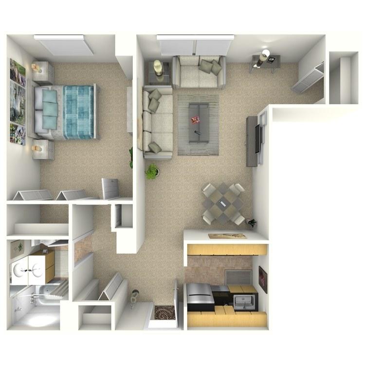 Floor plan image of Benson