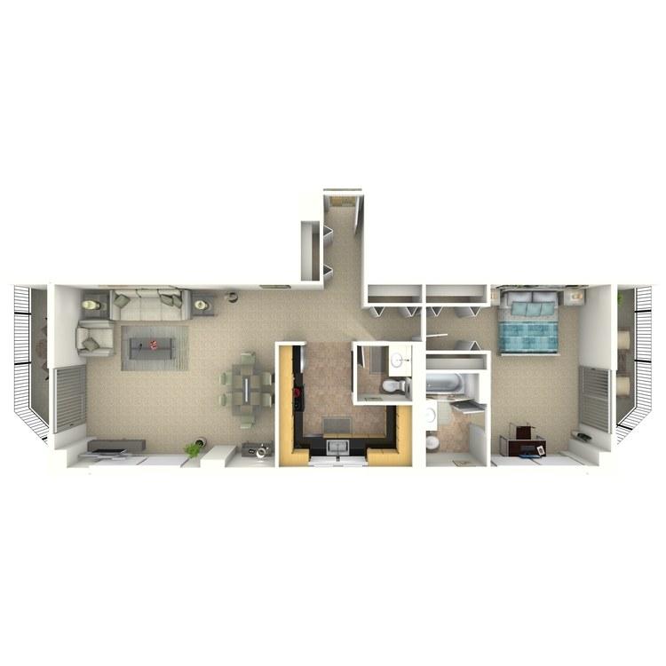 Floor plan image of Harrington