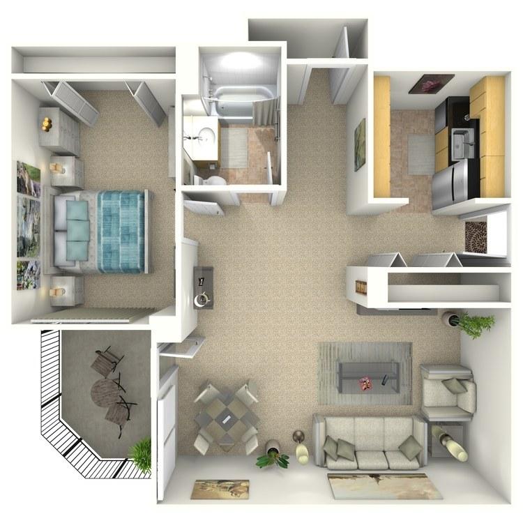 Floor plan image of Gallagher