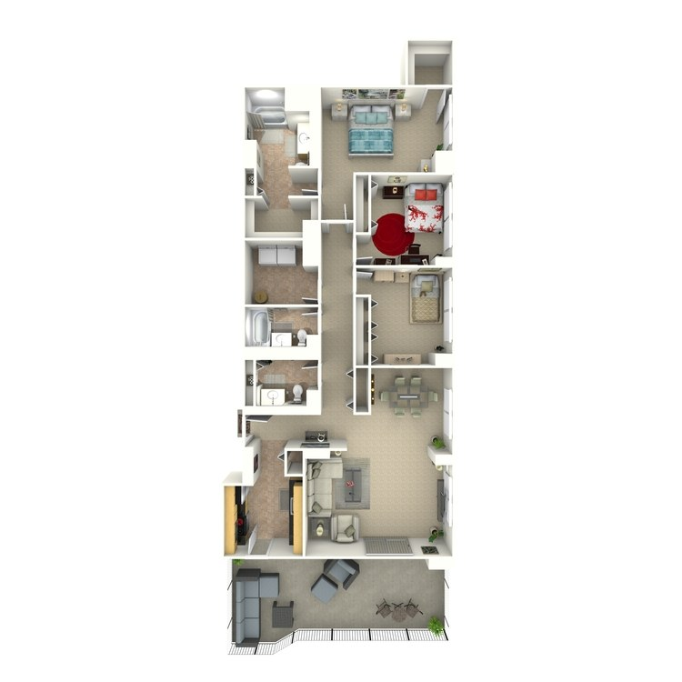 Floor plan image of Owens