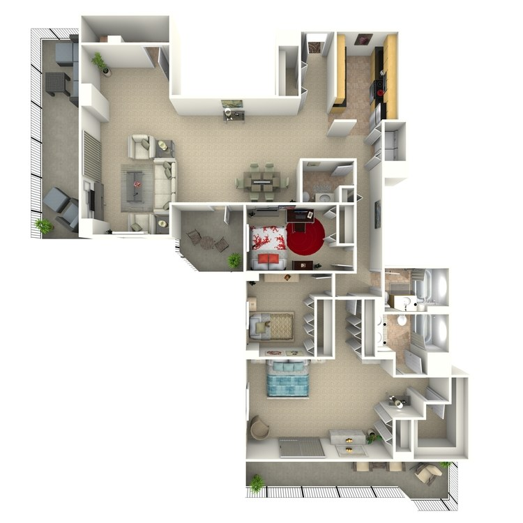 Floor plan image of Newman