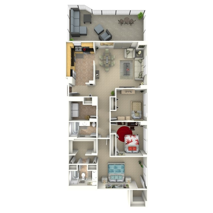 Floor plan image of Lancaster