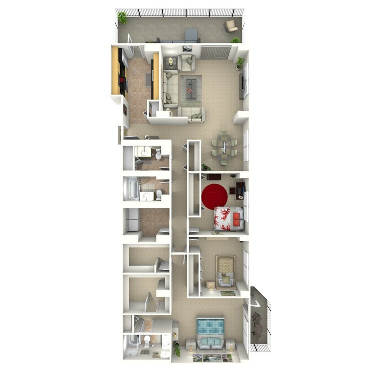 Floor plan image of Reese