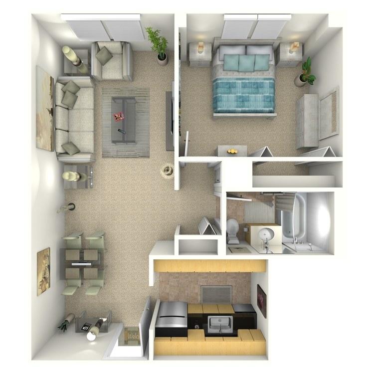 Floor plan image of Thompson