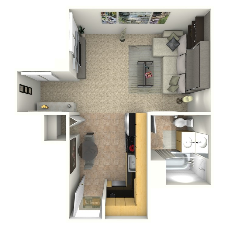 Floor plan image of Upton