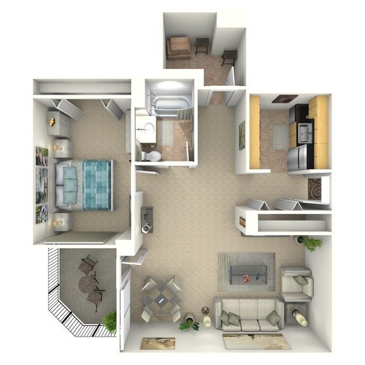 Floor plan image of Webster