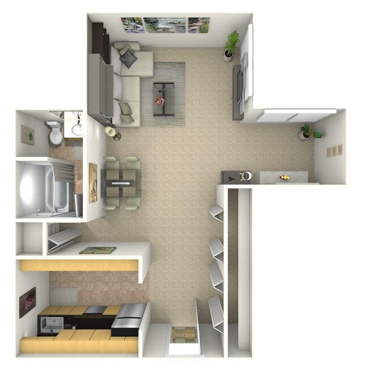 Floor plan image of Vincent