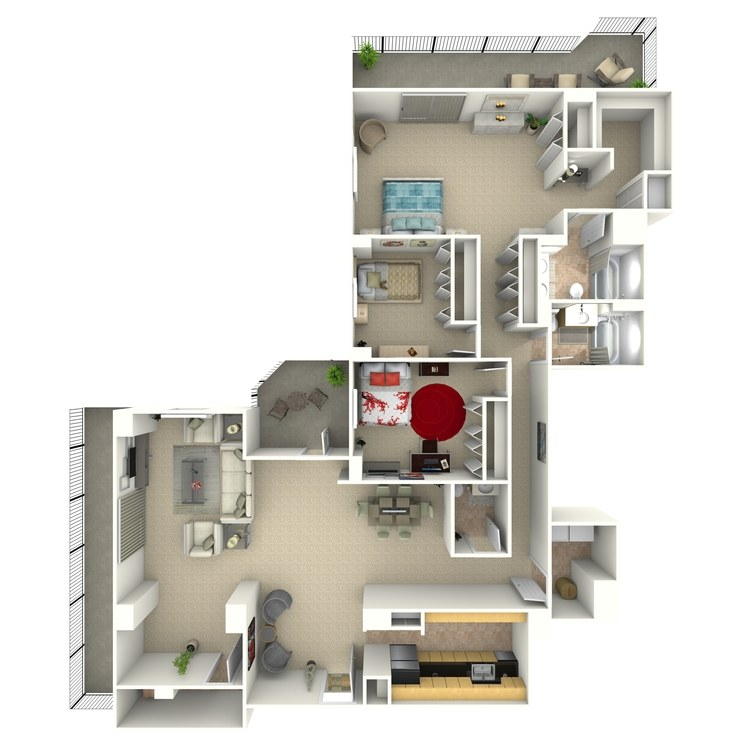 Floor plan image of Malone