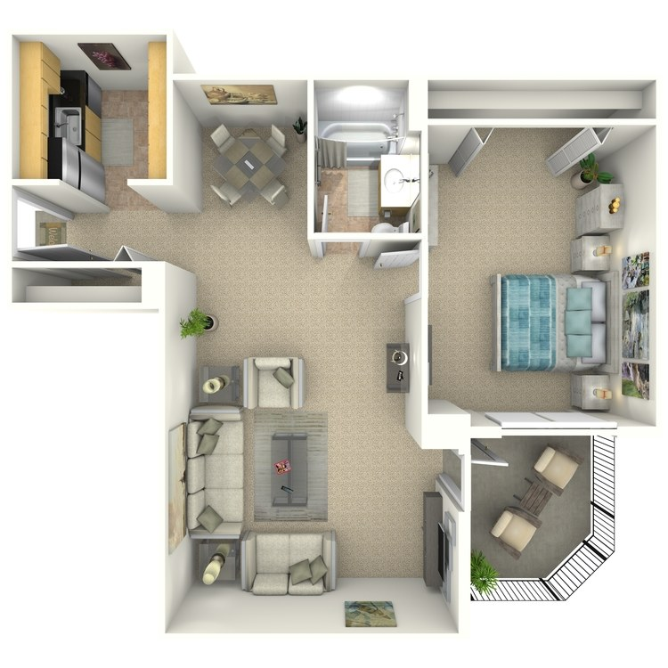 Floor plan image of Elliott