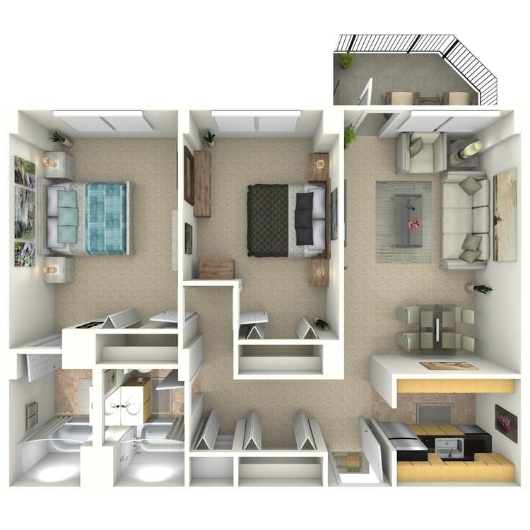 Floor plan image of Jamison
