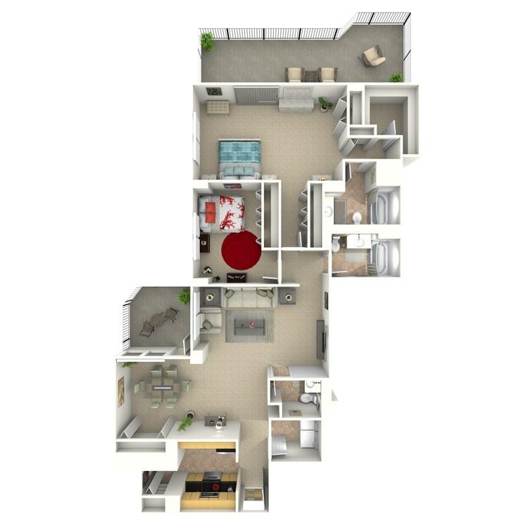 Floor plan image of Stuart