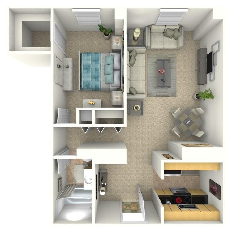 Floor plan image of Irving