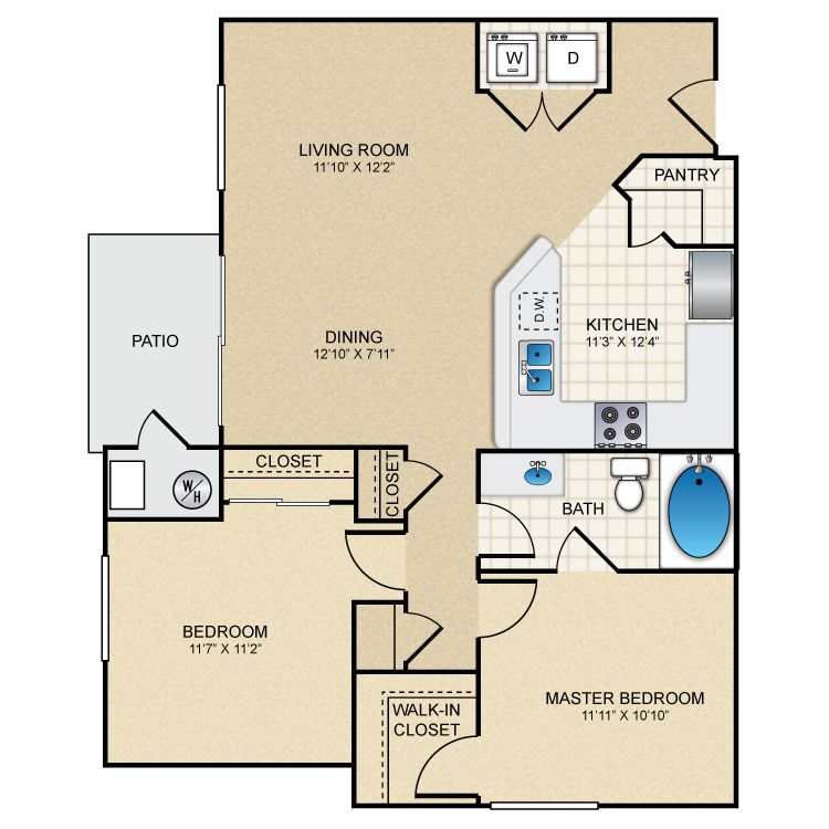 Floor plan image of Sage