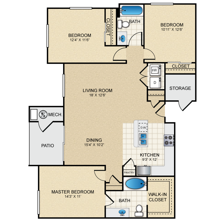 Floor plan image of Sumac