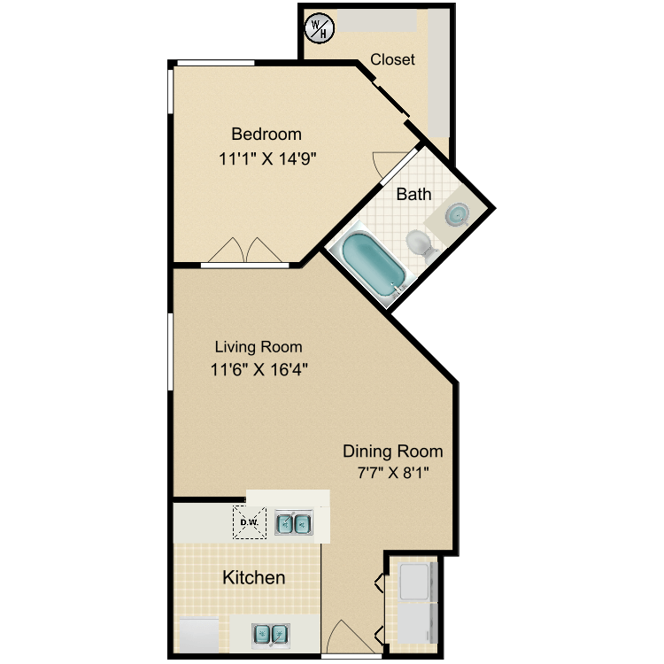 Floor plan image of Camelback