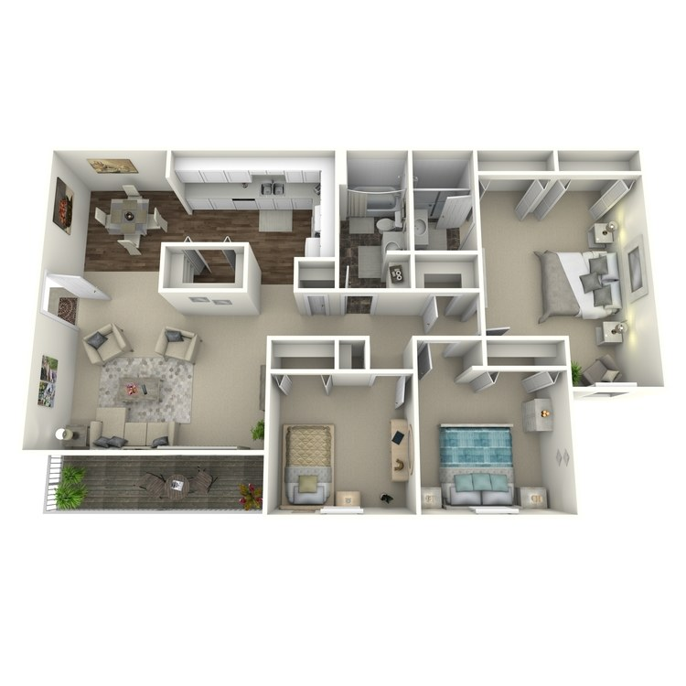Floor plan image of Moosehead