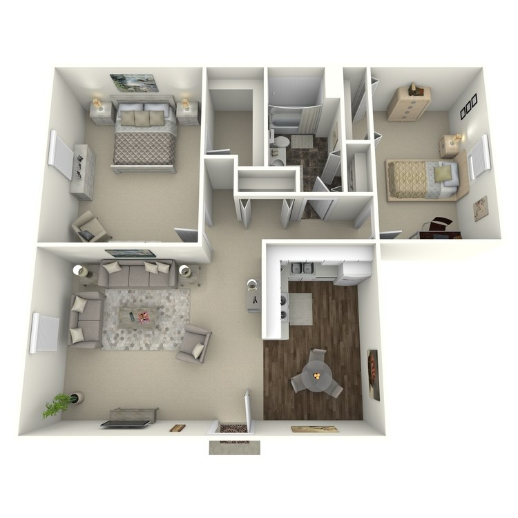 Floor plan image of Breckenridge