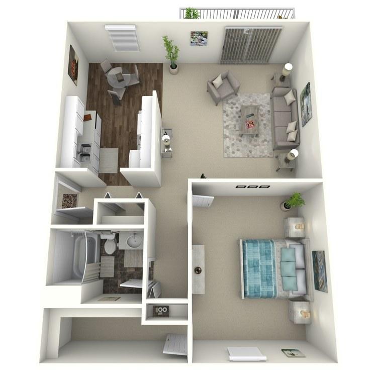 Floor plan image of Vail