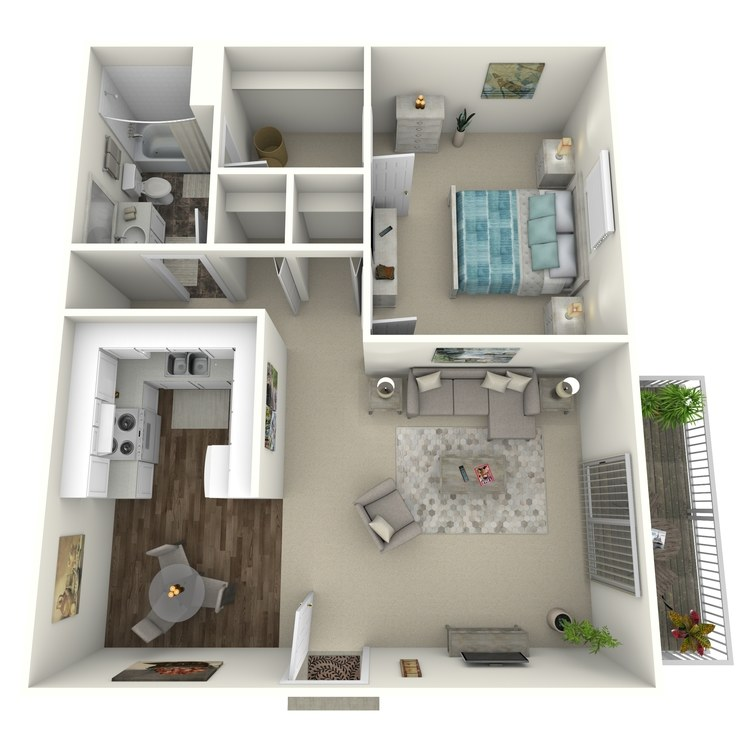 Floor plan image of Twin Oaks