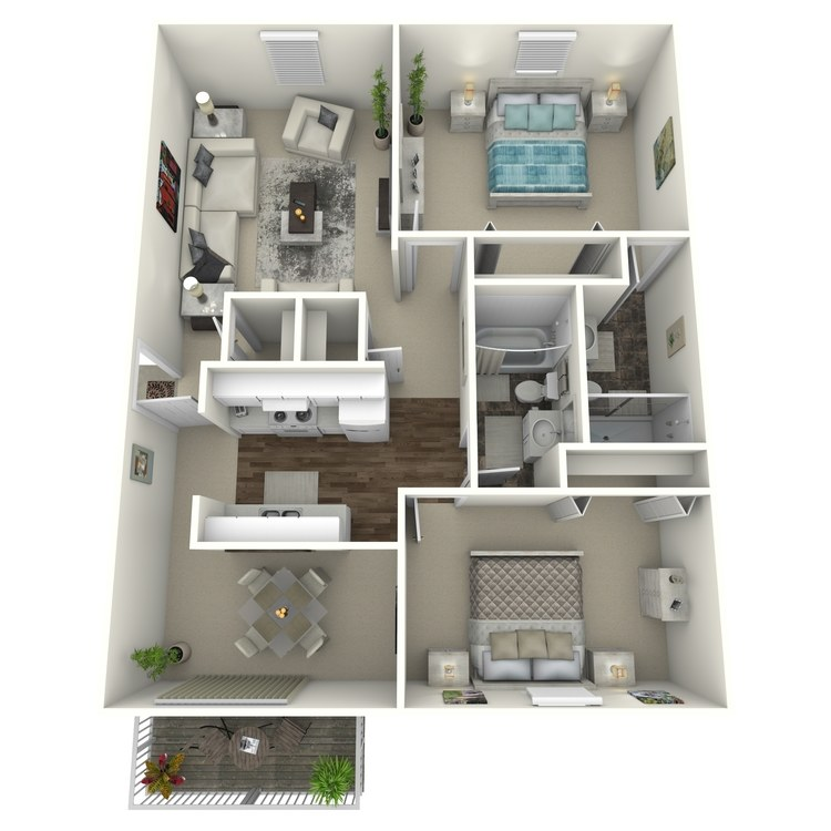 Floor plan image of Buckhorn
