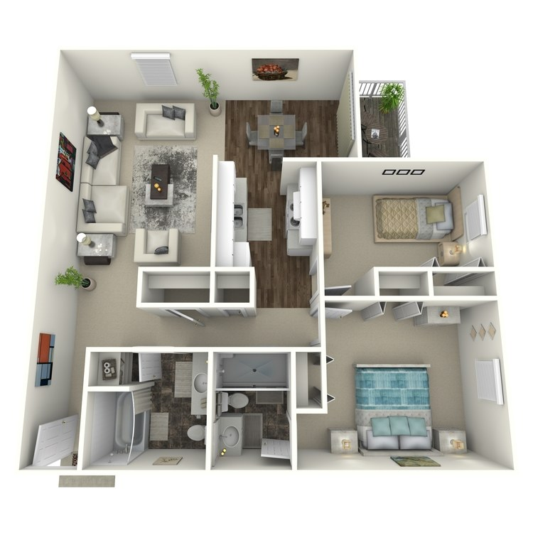 Floor plan image of Copper Mountain