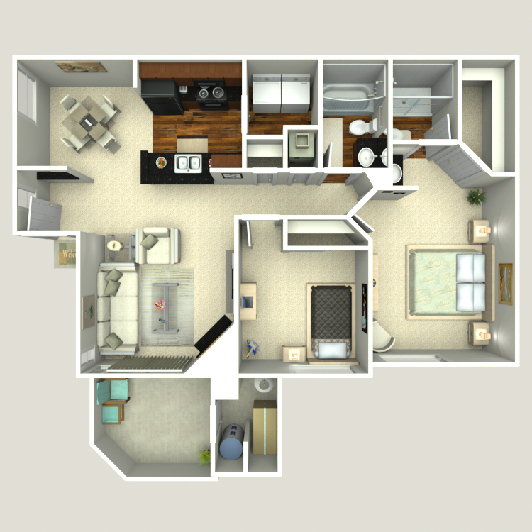 Floor plan image of Cottonwood