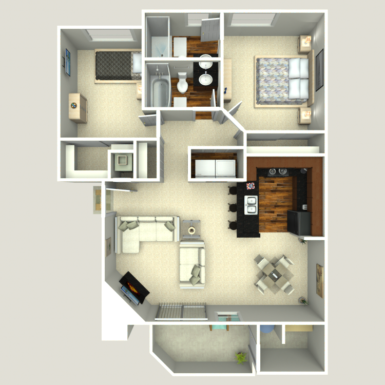 Floor plan image of Eucalyptus