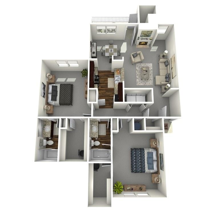 Floor plan image of Odessa