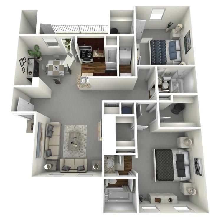 Floor plan image of Midland
