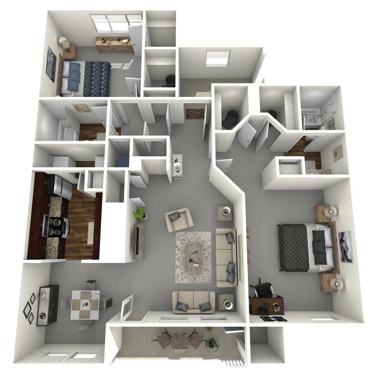 Floor plan image of Bellaire