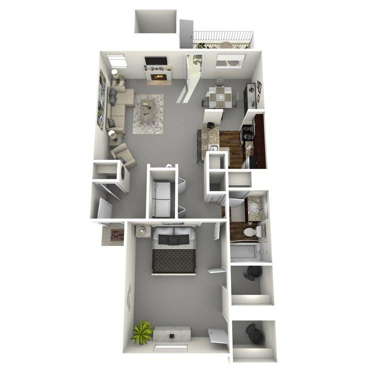 Floor plan image of Brenham