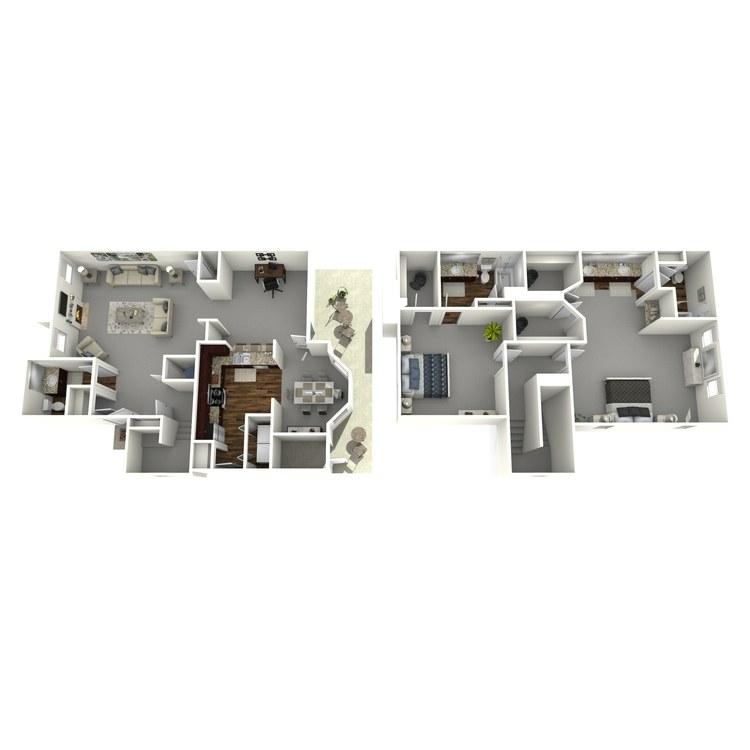 Floor plan image of Kemah