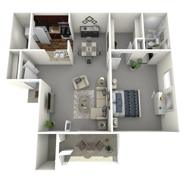 Floor plan image of Seguin