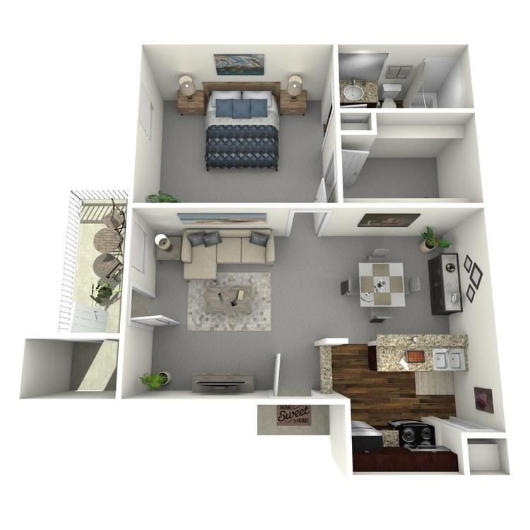 Floor plan image of Del Rio