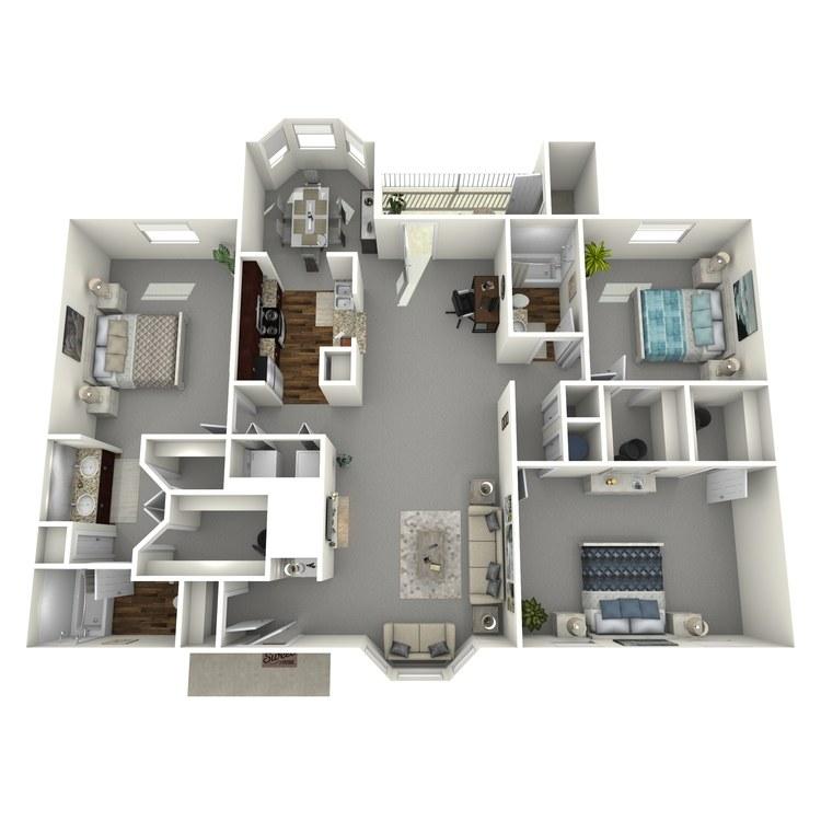 Floor plan image of Carthage
