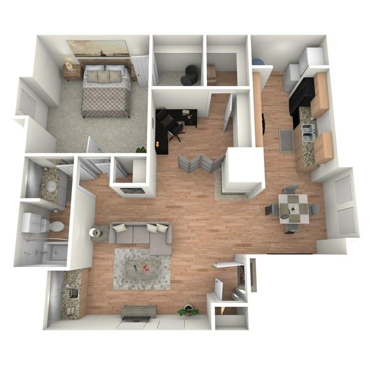 Floor plan image of The Windsor