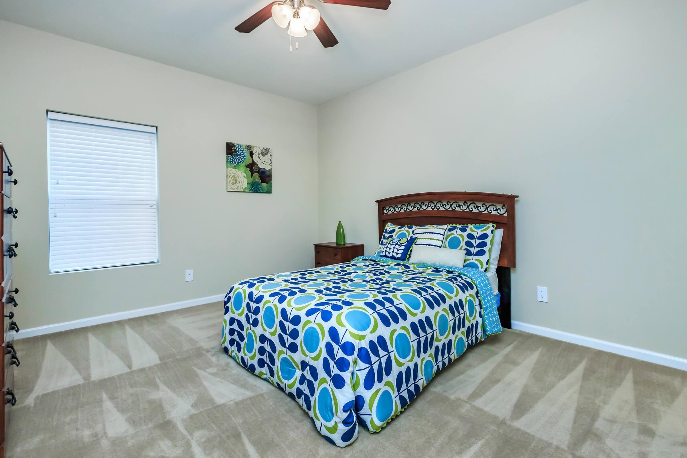 BEDROOM IN EAGLES CREST AT JACK MILLER
