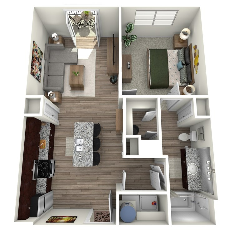Floor plan image of A2 Highland