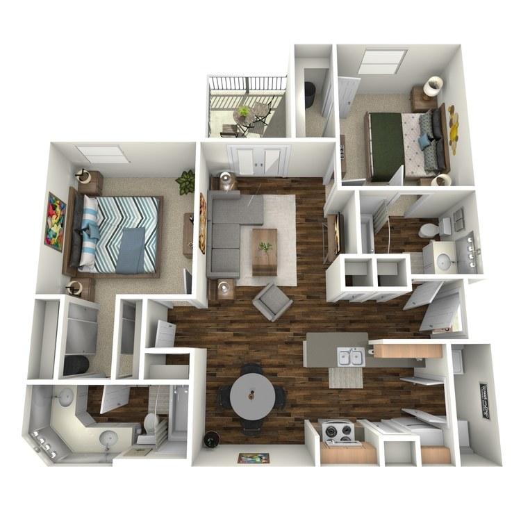 Floor plan image of B1 Mayfair