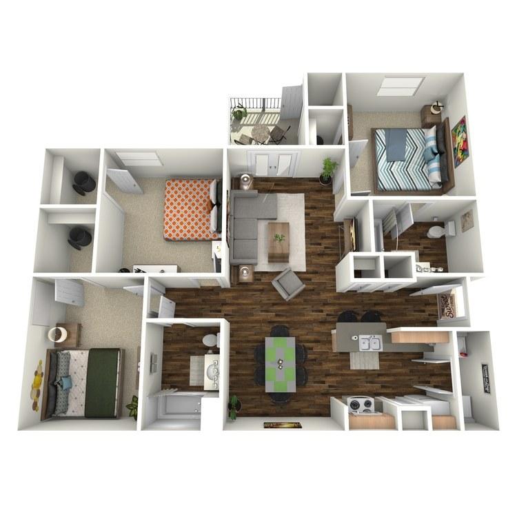 Floor plan image of C1 Mayfair
