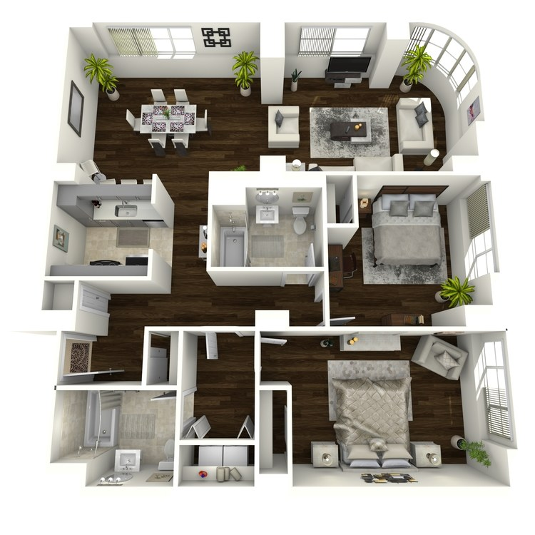 Floor plan image of Renaissance